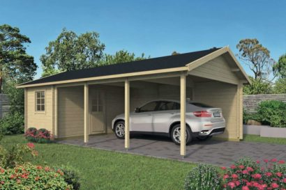 Ever Carport Storage Tuindeco 40x0805 P01