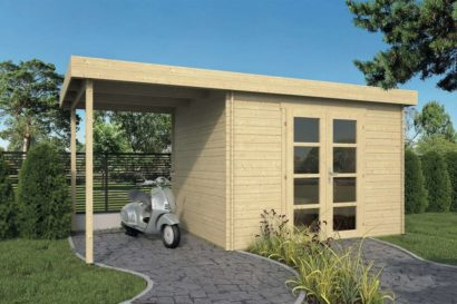 Log Cabin Modern Extra Tuindeco 40x0789 P01