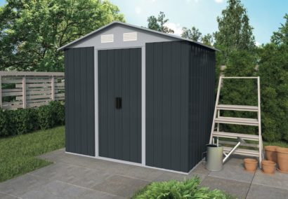 Metal Shed 2 Apex Tuindeco 29x1102-P01