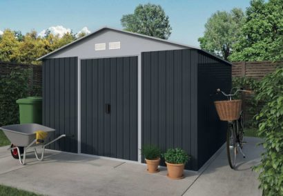 Metal Shed 4 Apex Tuindeco 29x1104-P01