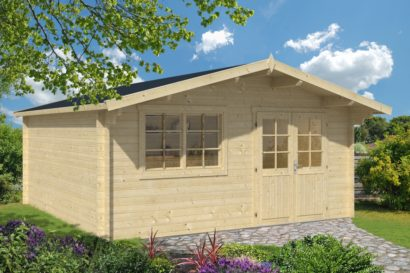 Rose Log Cabin Tuindeco 40x7232 P01