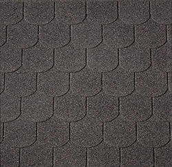 Black Curved Shingles –  40.9980