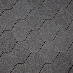 Black Hexagonal Shingles –  40.9985