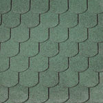 Shingles Green Curved 40×9982