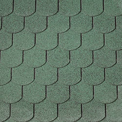 Green Curved Shingles –  40.9982