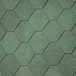Green Hexagonal Shingle –  40.9987