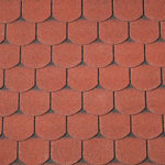 Shingles Red Curved 40×9981