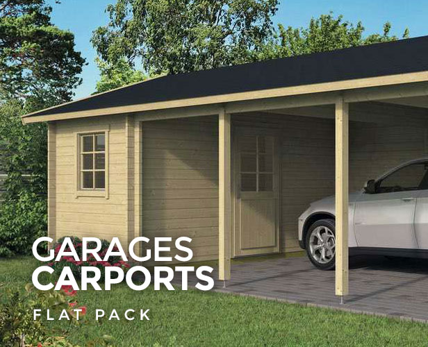 Flat Pack Garages and Carports