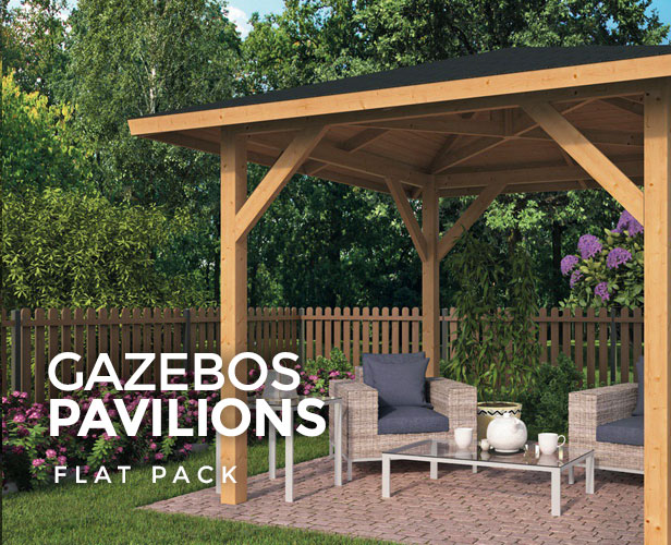 Flat Pack Gazebos