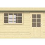 Log Cabin Mary Tuindeco 40×7359 F01