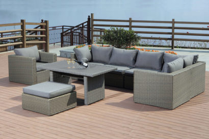 Waterford 8 Piece Garden Lounge Set