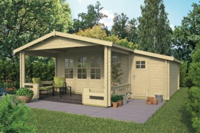 Coventry Log Cabin 4.40m x 3.40m