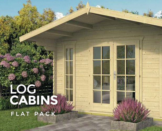 Flat Pack Log Cabins