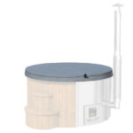 Thermowood deluxe Hot Tub-43×6182-P03