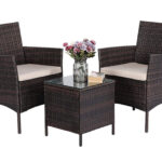Stella Rattan Table and Chairs